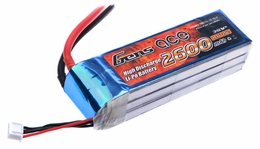 Gens ace 2600mah 3S1P 11.1V 25C Lipo battery pack