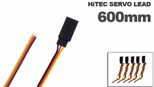 Hitec Servo  lead 600mm (5 pcs)