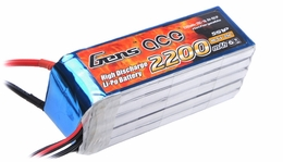 Gens ace 2200mah 5S1P 18.5V 25C Lipo battery pack