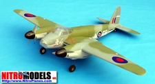 "DeHavilland Mosquito  Twin 25~32 - 73"" Engine Powered Radio Remote Controlled Nitro Gas Scale Airplane ARF"
