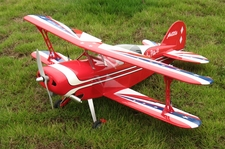"Pitts Special Challenger 40 - 42.5"" ARF Nitro Gas Powered Radio Remote Controlled BiPe Airplane"