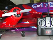 3-Channel C-17E Bi-Plane EP RTF RC Radio Remote Controlled Airplane