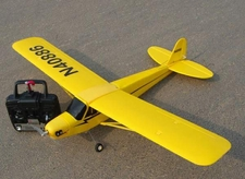 3-Channel LS J3 Piper Cub Radio Remote Controlled Electric RTF Airplane