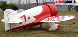 "Gee Bee 120 - 71"" Fiberglass Scale Nitro Gas Radio Remote Control RC Airplane ARF Plane"
