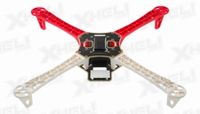 AeroSky Quadcopter  4 Channel Kit Frame (Red)