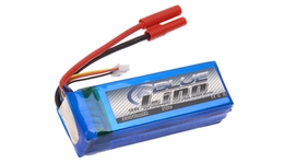 Blue Lipo 2200mAh 4S1P 14.8v 30C Battery
