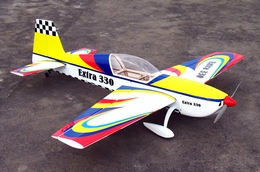 "Latest NitroModels 3D Extra 330L 90 - 63"" Acrobatic Nitro Gas Radio Remote Controlled RC Airplane ARF"