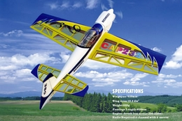 4-Channel Cap 232 3D EP ARF Brushless Plane Electric Radio Remote Controlled RC Airplane