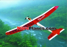 Red Cherub 3-Channel ARF Brushless Electric Radio Remote Controlled RC Sailplane
