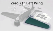 Wing set - Zero (90) LEFT Wing