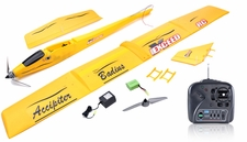3-Channel Slope Diver EP RTF Radio Remote Controlled RC Airplane RTF Folded Wing