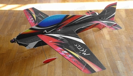 Tech One RC 4 Channel Metis Indoor Aerobatic Freestyle Depron Plane Almost Ready to Fly 900mm Wingspan