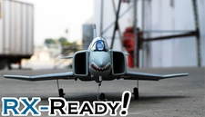 Exceed RC F-4E Phantom ARF 64mm Electric Ducted Fan RC Jet Shark Version (without Transmitter & Receiver)
