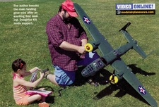 """REVIEWS"" Nitro Models B25 by Model Airplane News"