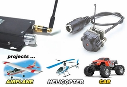 World Smallest Longest Range 2.4 Ghz Radio Remote Control Wireless RC Camera