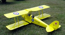 "de Havilland Tiger Moth 120 - 76"" ARF Nitro Gas Radio Remote Control RC Airplane"
