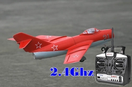 64mm Art-Tech 4 Channel 2.4Ghz MiG-15 3D Radio Remote Control Electric Ducted Fan RC Fighter Jet RTF Ready to Fly!