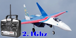 new Art-Tech 2.4Ghz Russian Knight Su-27 Flanker Twin 64mm Electric Brushless Jet