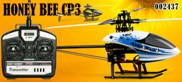 2.4GHz 6-Channel Esky Honey Bee CP3 Radio Remote Controlled Helicopter RTF (White)