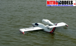 "Seawind Seaplane 60 - 70"" Almost-Ready-to-Fly Radio Remote Controlled RC Sea Plane ARF Seaplane"