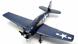 Super Scale Airfield 1100mm F6F Hellcat EPO Warbird Plane ARF w/ Brushless Motor/ESC