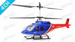 Dynam 4 Channel Jet Ranger 370 RTF 2.4Ghz  RC Helicopter