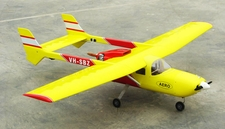 "Yellow Skymaster 337 46-81"" Twin-Engine Nitro Gas Radio Remote Controlled RC Airplane ARF"