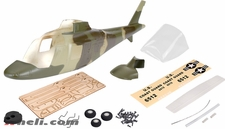 A109 450 Glass Fiber Pre-Painted  Fuselage Green