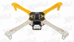 AeroSky Quadcopter  4 Channel Kit Frame (Yellow)
