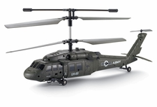 UDI UH-60 Black Hawk 3 Channel Infrared RC Helicopter RTF w/  Built in Gyro