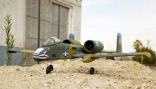Upgraded 4-CH A-10 Thunderbolt 2 RC w/ Dual Brushless Motor & ESC+ LiPo Battery 100% RTF (Camo Version 2)