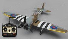 Dynam Hawker Tempest 5 Channel RC Warbird RTF 1250mm Wingspan 2.4G