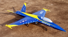 EDF UCAV 101mm Electric Ducted Fan RC Airplane [Blue] Kit