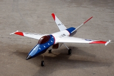 "4-Channel UCAV 47"" 101MM EDF Radio Remote Control RC Airplane ARF"