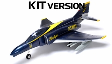 AirField F4 Electric Ducted Fan 70MM RC Jet KIT (Blue Angel)