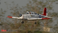 "CMPro U.S. Navy T-34 Mentor 40 - 58"" Nitro Gas Radio Controlled Airplane w/ Retracts! ARF-Version"