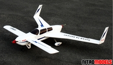 Rutan Defiant 74 ARF Twin-Engine Radio Remote Controlled Push-Pull RC Aircraft
