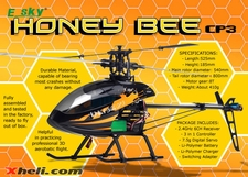 2.4GHz 6-Channel Radio Remote Controlled Helicopter RTF (Black)