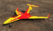 "Flying Cat 90 - 60"" ARF R/C Pusher Jet - A Radio Remote Controlled Airplane"