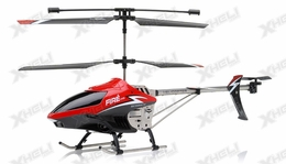 NEW Fire Eyes 3.5 Channel RC Aerial Camera helicopter RTF with external camera + Gyro + LED Transmitter (Red)