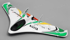 Tech One RC 3 Channel Neptune RC Plane Almost Ready to Fly 588mm Wingspan (Green)