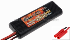 GENS ACE 4000mah 2S1P 7.4V 25C hard case Lipo battery ROAR Racing Approved Batteries