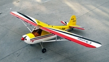 "106"" Giant Scale 30-50CC Skyline Champ Gas Remote Control RC Airplane Kit (Red)"