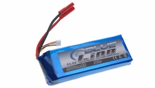 Blue Lipo 3-Cell 4000mAh 11.1v 3S1P 30C RC Battery