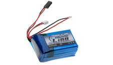 Blue Lipo 2-Cell 2100mAh 2S3P 7.4v 5C for TX