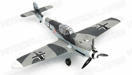 Dynam 5-CH Messerschmitt BF109 Brushless Radio Remote Control RC Warbird Plane w/ Scale Retracts 2.4G RTF