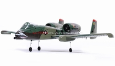 Dynam Dual 64MM A-10 Thunderbolt II EDF Jet ARF Receiver-Ready w/ Brushless Motor + ESC (Army Green)