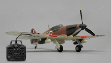 Airfield Hurricane 2.4ghz 4 Channel RC Warbird Ready to Fly RTF Wingspan 750mm