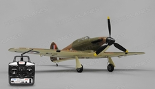 Art Tech Hurricane RC 6 Channel Warbird Airplane Ready to Fly 1000mm Wingspan