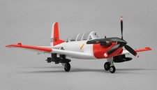 Airfield T34 Mentor RC Plane 4 Channel Kit Wingspan 750mm (Red)